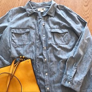 Denim Like Shirt - Size L